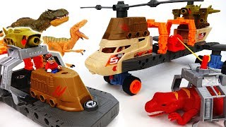 Capture The Dinosaur With Jurassic Copter - ToyMart TV