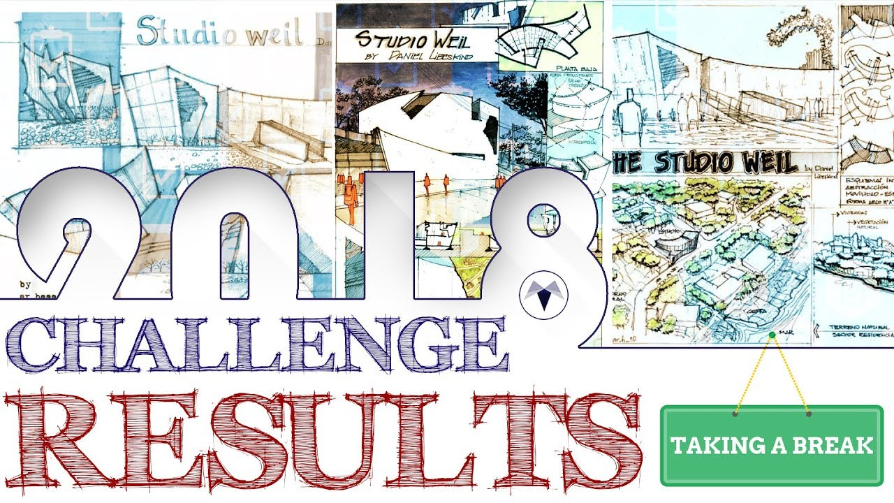 July challenge results - Architecture Daily Sketches