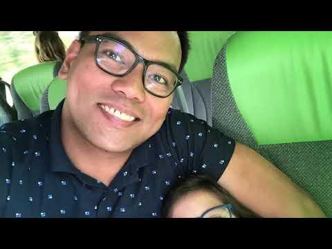 Denmark 2019 Vlog No3|Doubledecker Flixbus And Ferry Ride From #Denmark To #Berlin In #Germany