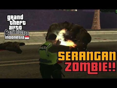 GTA SA DYOM Indonesia  - Serangan Zombie