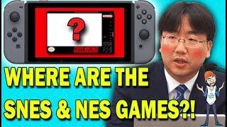 Has Nintendo Forgotten About SNES & NES Games On Switch? - FUgameNews