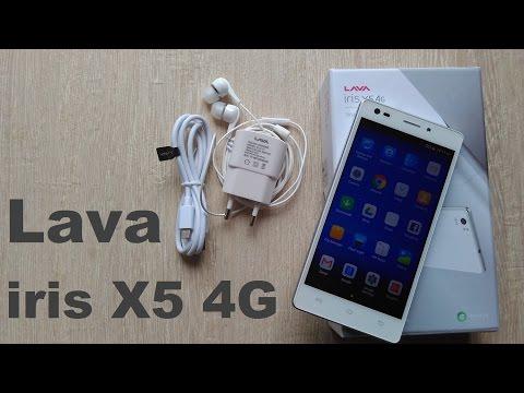 Lava Iris X5 4G Unboxing