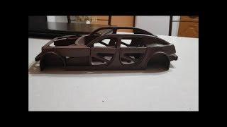 Постройка Модели Автомобиля Из Пластилина 4. Рама (4 Часть)