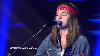 ياسمينا نحاس – No Diggity - مرحلة الصوت وبس – MBCTheVoiceKids