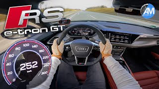 RS e-tron GT (646 hp) | 0-260 km/h LAUNCH Control🏁 | by Automann in 4K