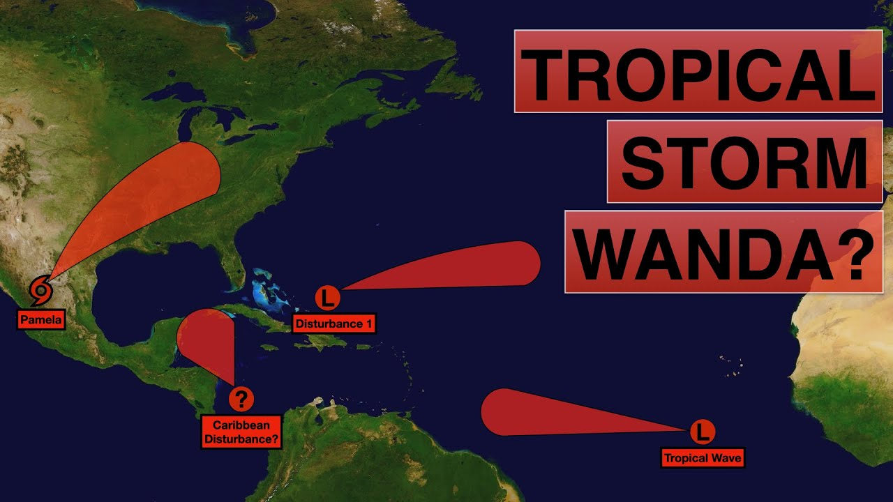 Will the Central American Gyre form Tropical Storm Wanda? | Deciphering Weather