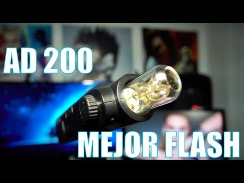 Godox AD200 | review | My first Flash - Spanish 2018
