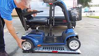 Harmar AL 100 lift with Swing Away for Scooters