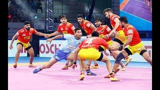 Pro Kabaddi 2019 highlights: Gujarat Fortune Giants vs Tamil Thalaivas