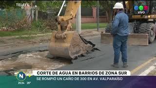 CORTE DE AGUA EN BARRIOS DE ZONA SUR