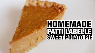 Patti LaBelle Sweet Potato Pie RECIPE | Nik Scott