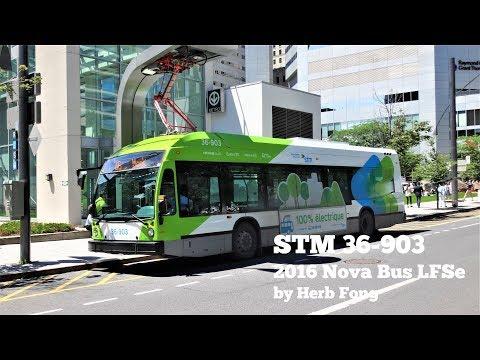 STM Montreal: ride on 36-903 on 36 Monk (2016 Nova Bus LFSe)