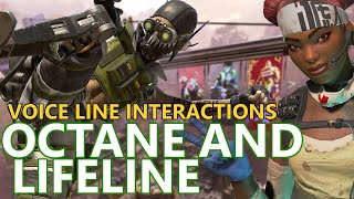 All the voice lines between octane and lifeline that came with new apex legends season 5.these are specific to other ...