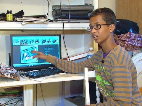 Ahmed Mohamed 14, Detained - Police Mistake Clock For Bomb #StandWithAhmed