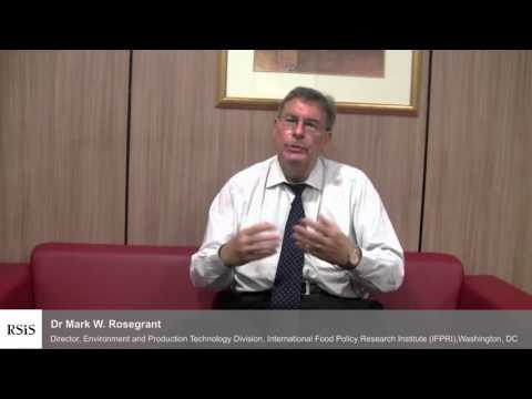 Interview with Dr Mark W. Rosegrant by the Centre for Non-Traditional Security Studies, RSIS