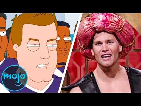 Top 10 Hilarious Tom Brady Pop Culture Moments