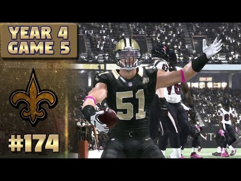 Saints vs Texans Highlights (S4,G5) | Madden NFL 17 New Orleans Saints Franchise Ep. 174