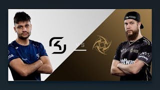 CS:GO - SK vs. NiP [Overpass] - Group B Round 3 - ESL Pro League Season 6 Finals