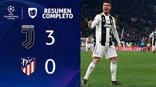 Juventus 3 - 0 Atletico Madrid