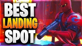BEST LANDING SPOT FOR SEASON 8! Best Landing Spot For Easy Wins! (Fortnite Battle Royale)