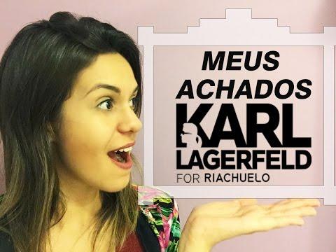 Meus Achados - Karl Lagerfeld Para Riachuelo
