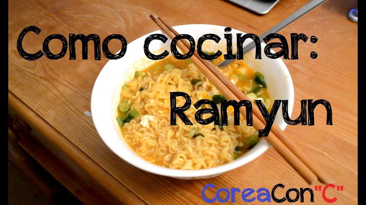 Como cocinar ramyun ramen coreano doovi for Como cocinar alubias de bote