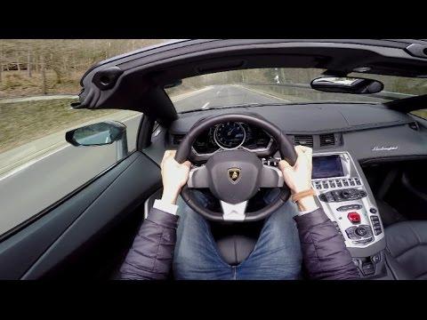 POV Drive: Lamborghini Aventador Roadster LP700-4