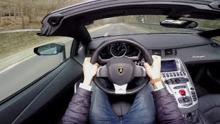 Video POV Drive: Lamborghini Aventador Roadster LP700-4 download MP3, 3GP, MP4, WEBM, AVI, FLV Juni 2018