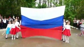 Креативный танец ко Дню Победы -  'Моя Россия'. 9 мая