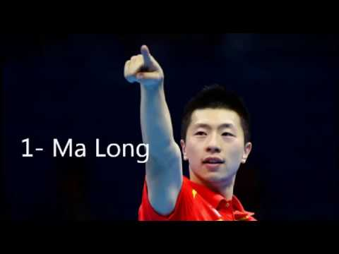 top 10 table tennis players in the world  2017