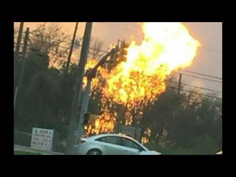 Huge Gas Well Explosion In Pennsylvania, Evacuations and Injuries Reported