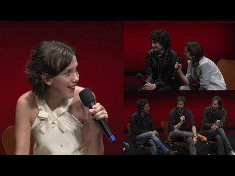 Stranger Things Cast and Creators Q&A about Season 1&2