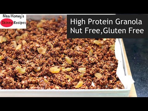 quinoa-granola-recipe---how-to-make-gluten-free-quinoa-granola---quinoa-recipes---skinny-recipes