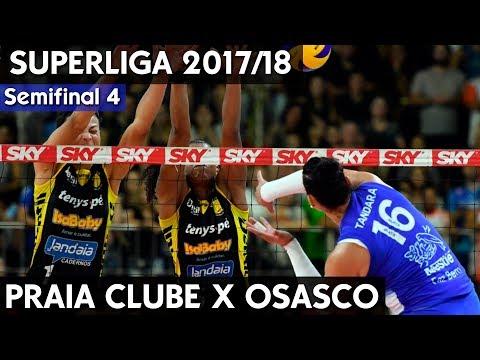 OSASCO X PRAIA CLUBE JOGO 4 | SEMIFINAL SUPERLIGA 17/18 HD