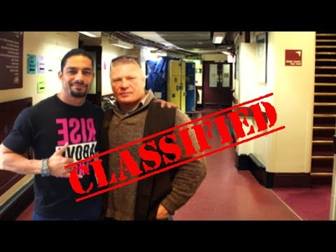 Brock Lesnar and Roman Reigns Backstage Leaked, Real Life Moments