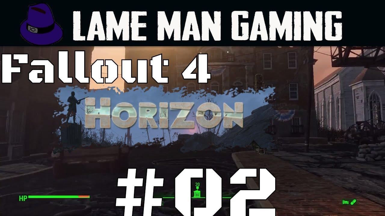 Fallout 4 Horizon Modded Survival | Lame Man's Terms