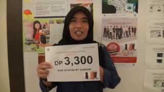 Testimoni Sensualite Nur Syafini turun 39 kg dlm 120 hari