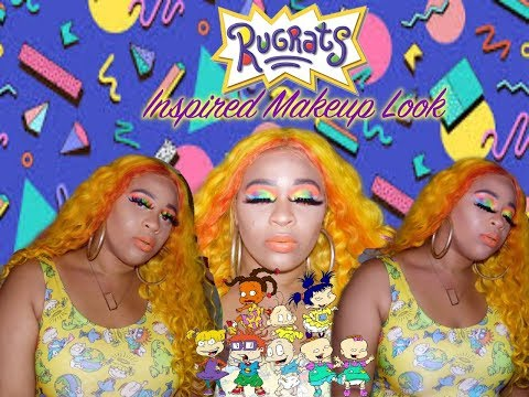 Rugrats Inspired Makeup|Cartoon Inspired Makeup Collab thumbnail