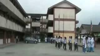 SMK Hutan Melintang Latihan Kebakaran Sesi Pagi
