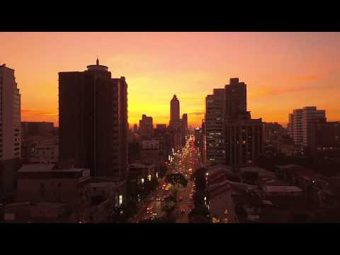 WOW! I love the colors in Taipei City around sunset view from a drone