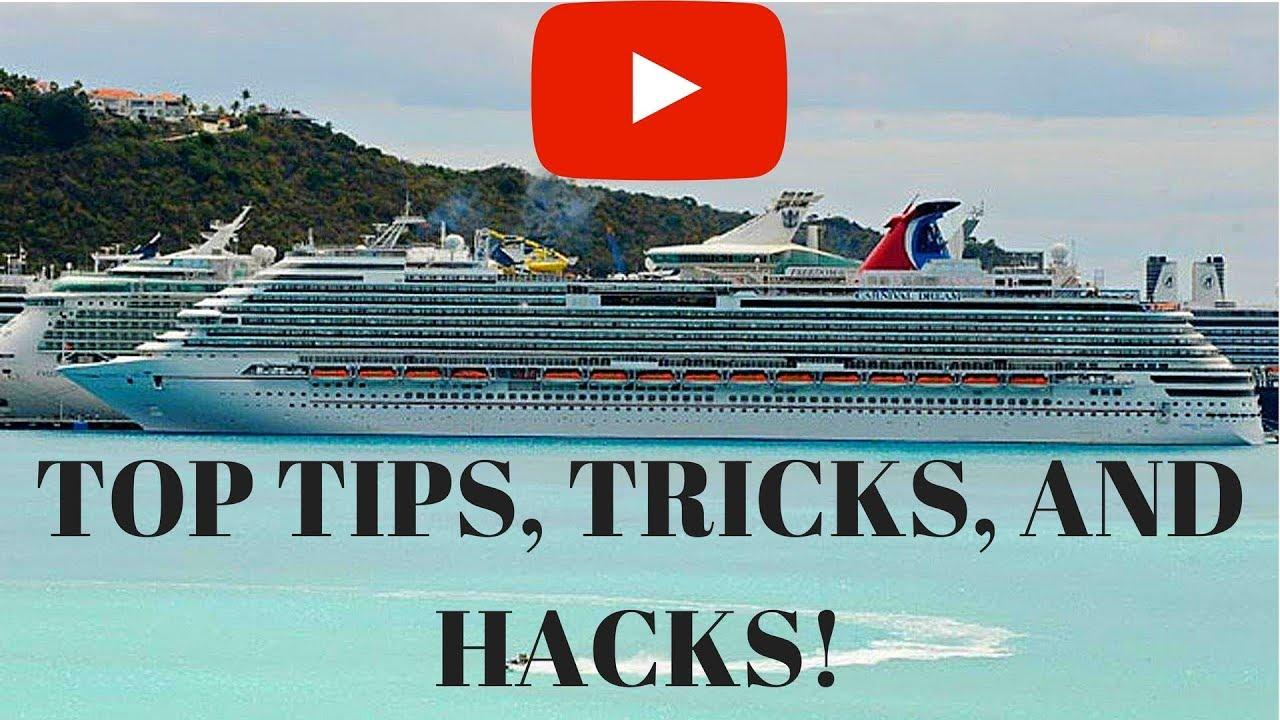 Ultimate Carnival Cruise FUN SHIPS Tips Tricks Secrets Hacks - Cruise ship tricks