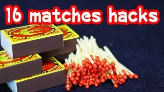 Repeat youtube video 100均のマッチを使った16の便利ワザ/16 lifehacks with matches