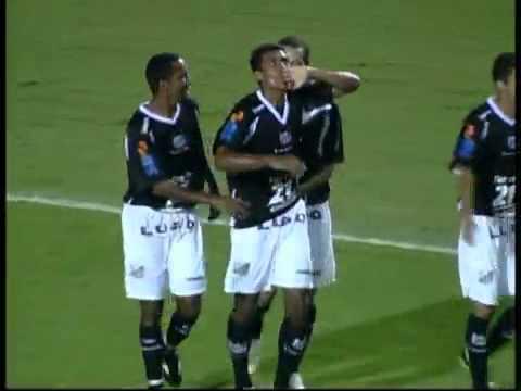 Os gols de Corinthians 2 x 1 Bragantino, pela 2ª rodada do Paulistão 2010