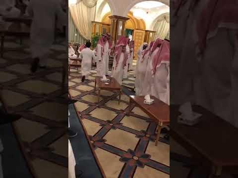 مقطع من عرضة شباب العقيلي الخالدي في حفل زواج الشاب ابراهيم بن عبدالله العقيلي الخالدي .