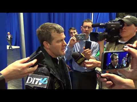 Head Coach Tom Brands press conference following session 1 of the NCAA Championships
