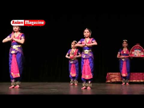 Natyanjali 2016 Indian Classical Dance Ballets    Part 1 of 2