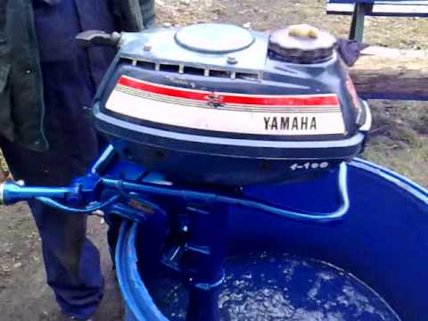 Yamaha 3 5 Hp Outboard Motor 1975r Air Cooled 2 Stroke