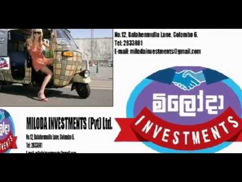 MILODA INVESTMENTS (PVT) LTD. COLOMBO 06 Specialists in One Day Leasing Facilities