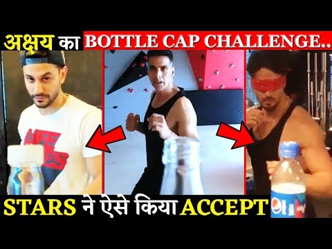 This Is How Bollywood Stars Accepted Akshay Kumar's BOTTLE CAP CHALLENGE