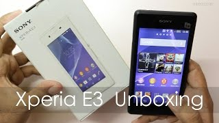 Sony Xperia E3 Budget Android Phone Unboxing & Overview